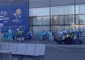 В сети разгорелся скандал из-за фото паралимпийцев в аэропорту Борисполь