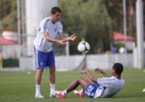 Тарас Михалик уже тренируется с Динамо