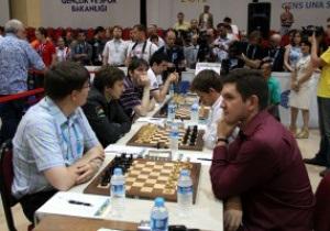 Украинцы выиграли третье место на шахматной Олимпиаде