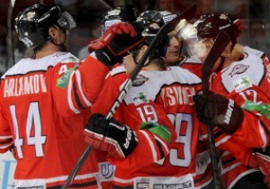 Хоккей: Донбасс выиграл исторический первый матч в КХЛ