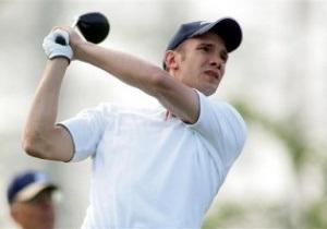 Андрей Шевченко примет участие в чемпионате мира по гольфу