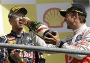 Формула-1: Дженсон Баттон выиграл гран-при Бельгии