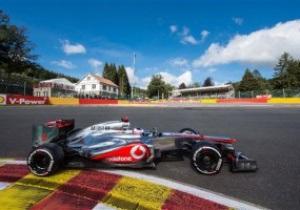 Первый в McLaren. Дженсон Баттон завоевал поул на гран-при Бельгии