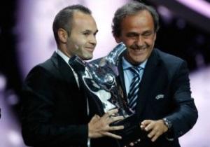 Иньеста прокомментировал получение награды Лучшему футболисту Европы