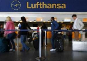 Бортпроводники Lufthansa завтра начинают забастовку