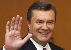 Янукович: Украина может претендовать на проведение Чемпионата мира по футболу