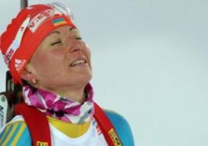 Украинка выиграла гонку в летнем биатлоне