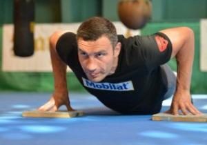 Фотогалерея: Ни дня без тренировок. Кличко продолжает подготовку к бою с Чарром