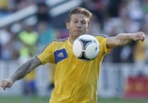 Андрей Воронин простился со сборной во Львове