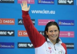Гвоздь программы. Венгерская спортсменка побеждает в водном марафоне
