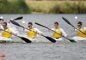 Австралийская мужская четверка выиграла золото Олимпиады в гребле на байдарках