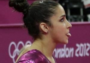 Американская гимнастка Александра Райзман выиграла золото Олимпиады-2012 в вольных упражнениях