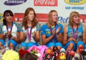 Чемпионки Олимпиады в гребле получат квартиры в Днепропетровске