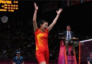 Китайская бадминтонистка Ли Сюэжуй выиграла золото в одиночном турнире на Олимпиаде-2012