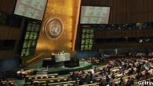 Генасамблея ООН ухвалила резолюцію щодо Сирії з критикою Радбезу