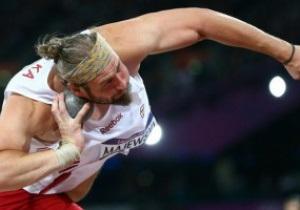 Поляк виграв золото Олімпіади-2012 у штовханні ядра