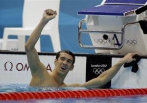 Майкл Фелпс стал обладателем золота Олимпиады-2012 на дистанции 100 м баттерфляем