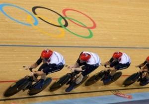 Великобритания выиграла золото в командном преследовании на олимпийском велотреке Лондона-2012
