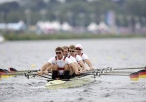 Немецкие гребцы завоевывают золото Олимпиады-2012