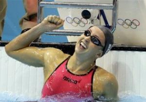 Американка Ребекка Сони выиграла золото Лондона-2012 на дистанции 200 м брассом с мировым рекордом