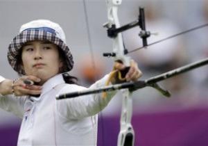 Кореянка Бо Бэ Ки выиграла золото в стрельбе из лука в Лондоне-2012