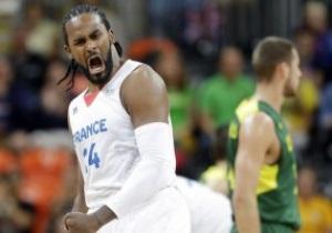 Олімпійський баскетбол. Франція дотискає Литву перед очима Сабоніса