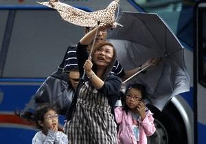 Над Тайваню пронісся тайфун Саола