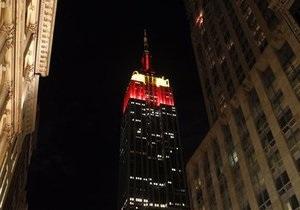 Сегодня вечером Empire State Building засветится флагом Украины