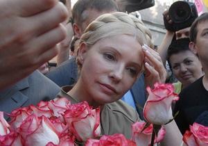 НГ: Юлію Тимошенко списали з рахунків