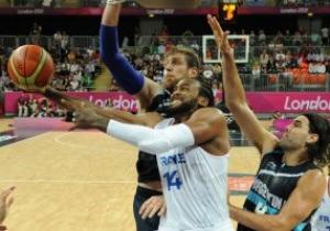 Олимпийский баскетбол. Франция одолела Аргентину