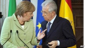 Італійський прем єр сподівається на швидкий вихід єврозони з кризи