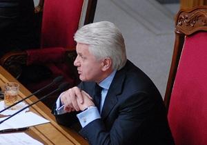 У ПР прокоментували підписання Литвином мовного законопроекту