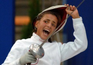 Украинка Яна Шемякина вышла в полуфинал олимпийского турнира шпажисток