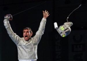 Венгерский саблист завоевывает золото Олимпиады