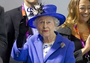 Елизавета II посетила Олимпийский парк