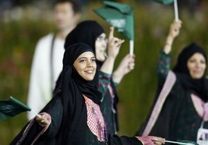 Саудовская Аравия впервые отправила на Олимпиаду женщин-спортсменок