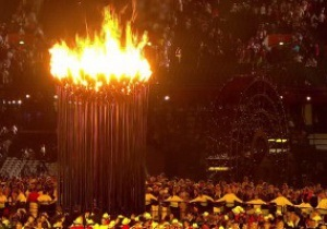 Огонь Олимпийских игр зажжен в Лондоне