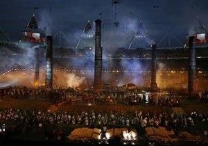 В Лондоне началась церемония открытия Олимпийских игр