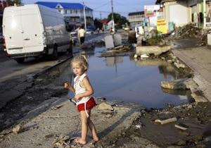 Усі постраждалі внаслідок паводку на Кубані отримають одноразову допомогу у розмірі 10 тисяч рублів