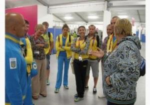 Фотогалерея: С национальным колоритом. Как украинские олимпийцы обустраиваются в Лондоне