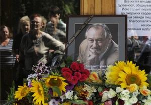 Церемонію прощання з Богданом Ступкою продовжили на годину