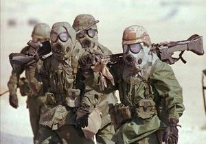 Пентагон: Сирії не варто навіть думати щодо застосування хімічної зброї