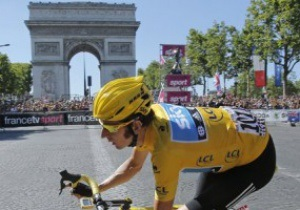 Уиггинс выиграл Тур ден Франс