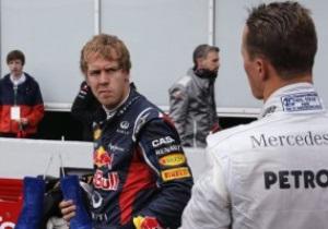 Феттеля оштрафували на 20 секунд, він опустився на п яте місце в протоколі Гран-прі Німеччини