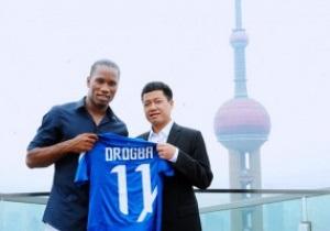 Дрогба в дебютном матче помог добыть ничью Шанхай Шэньхуа