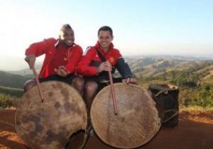 Фотогалерея: Гольф, зулусы и змеи. Как МЮ отдыхает во время предсезнного тура