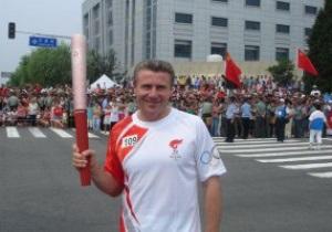 Почетный эстафетчик. Бубка пронесет Олимпийский огонь по улицам Лондона