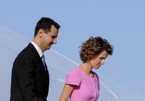 МЗС РФ спростував чутки про втечу дружини Асада до Москви