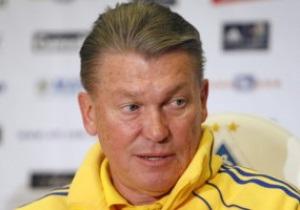 Блохин: Я еще не определил состав, а в сборную уже сватают Шевченко и Воронина