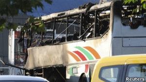 У Болгарії в автобусі з ізраїльськими туристами стався вибух: 7 загиблих